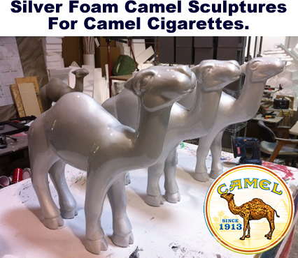 Foam Camel Sculpture