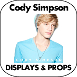 Cody Simpson Cardboard Cutout Standup Props