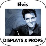 Elvis Cardboard Cutout Standup Props