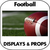 Football Cardboard Cutout Standup Props