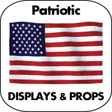 Patriotic & July 4th Cardboard Cutouts