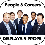 People & Careers Cardboard Cutouts