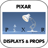Pixar Cardboard Cutout Standup Props