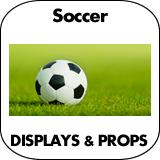 Soccer Cardboard Cutout Standup Props