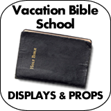 Vacation Bible School Cardboard Cutouts