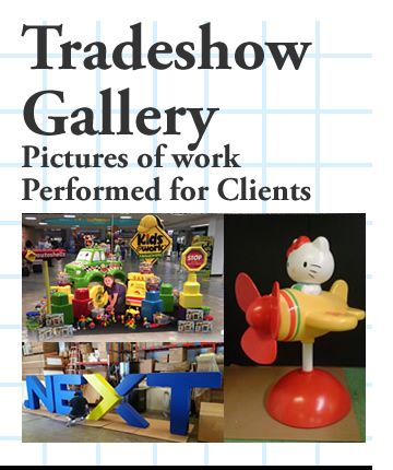 Trade-Show gallery - Work performed for clients