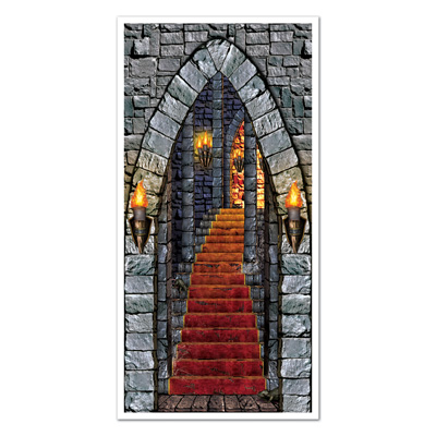 "Castle Entrance Door Cover 30"" x 5'"
