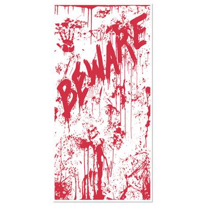 """Bloody Door Cover 30"""" x 5'"""