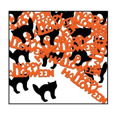 Happy Halloween & Cat Fanci-Fetti Confetti
