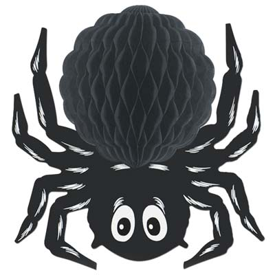 Black Tissue Spider 14""
