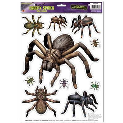 Creepy Spiders Peel 'N Place