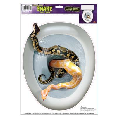 Snake Toilet Topper Peel 'N Place