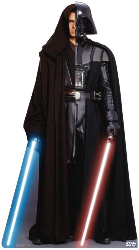 Anakin Skywalker/Darth Vader Cardboard Standee