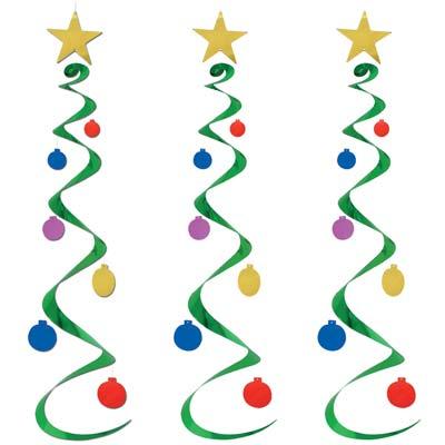 """Christmas Tree Whirls 30"""""""