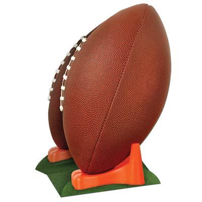 """3-D Football Centerpiece 11"""" Cardboard Cutout"""