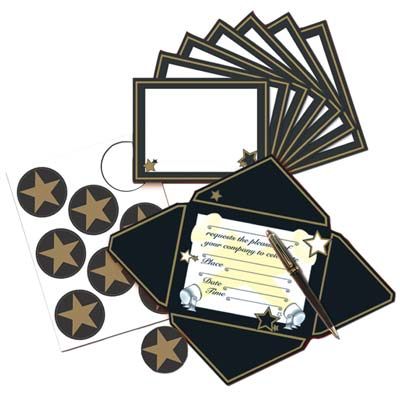 "Awards Night Invitations & Seals 4"" x 6"""