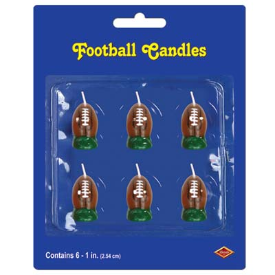 Football Candles 1½""