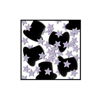 Top Hats & Mini Stars Fanci-Fetti Confetti