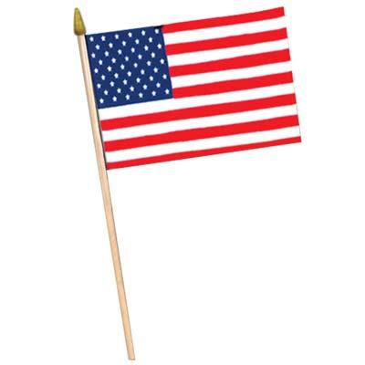 "American Flag 11"" x 18"""
