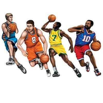 "Basketball Cutouts 20"""