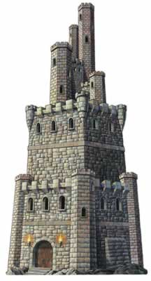 Jointed Castle Tower 4 Foot