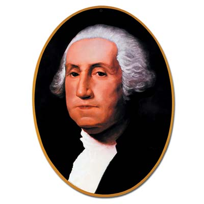 Washington Cutout 25""