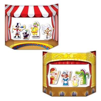 "Puppet Show Theater Photo Prop 3' 1"" x 25"""