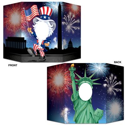 "Patriotic Photo Prop 3' 1"" x 25"""