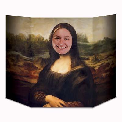 "Masterpiece Smile Photo Prop 3' 1"" x 25"""