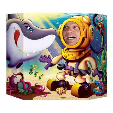 "Shark Photo Prop 3' 1"" x 25"""