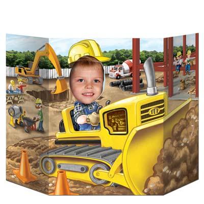 """Construction Photo Prop 3' 1"""" x 25"""""""