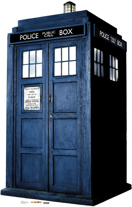 The Tardis - Doctor Who Cardboard Cutout Standup Prop