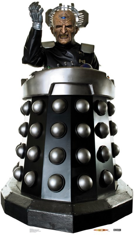 Davros - Doctor Who Cardboard Cutout Standup Prop