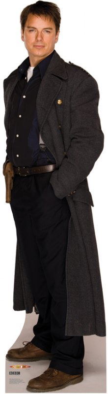 Capt. Jack Harkness - Doctor Who Cardboard Cutout Standup Prop