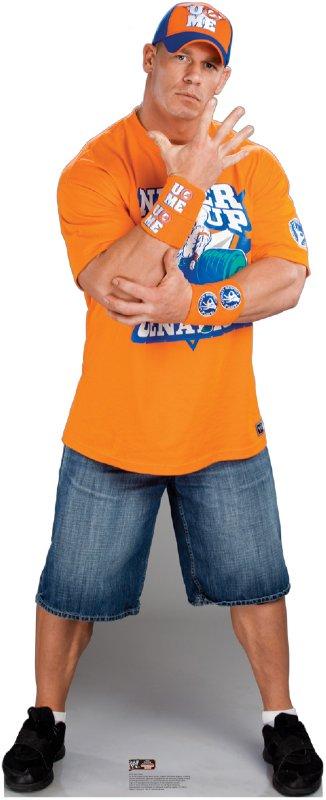 John Cena 2 - WWE Cardboard Cutout Standup Prop