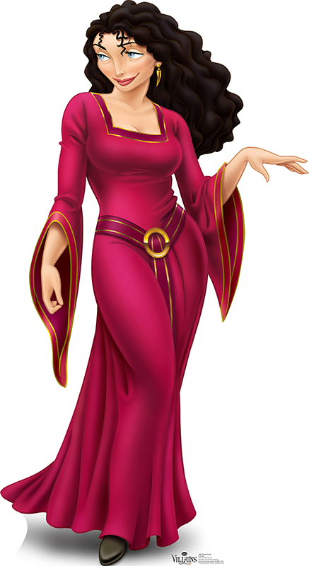 Mother Gothel - Disney Villain Cardboard Cutout Standup Prop