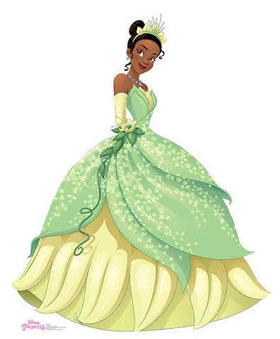 Tiana - Disney Princess Cardboard Cutout Standup Prop