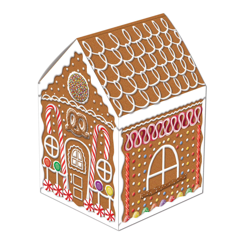 "Gingerbread House Centerpiece 8"""