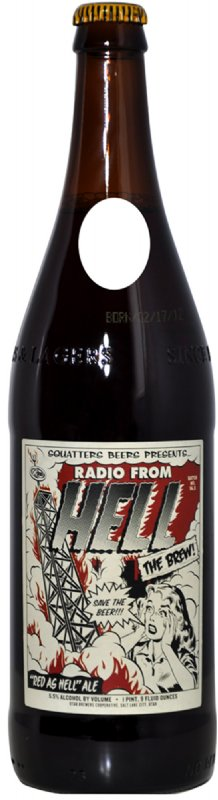 Radio From Hell Bottle Photo Face Stand-In Cardboard Cutout Standup Prop