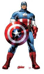 Captain America Cardboard Cutout Standup Prop