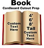 Book Cardboard Cutout Standup Prop