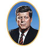 "John F Kennedy Cutout 25"""