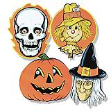 "Halloween Cutouts 16"""