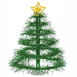 "Christmas Tree Centerpiece 16"" Green"