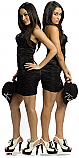 The Bella Twins - WWE Cardboard Cutout Standup Prop