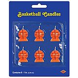 Basketball Candles 1¼""