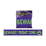 "Beware! Fright Zone Party Tape 3"" x 20'"
