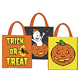 "Halloween Treat Bags 12"" x 14"""