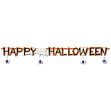 "Happy Halloween Streamer 10"" x 6'"