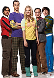 Group (Raj, Sheldon, Penny, Leonard, Howard) - The Big Bang Theory Cardboard Cutout Standup Prop